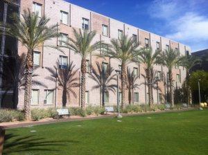 Arizona State University, Barrett Honors College Dorms (Photo by Jacob Green).